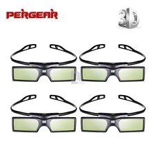 4 pcs G15-DLP 3D Active Shutter Glasses for DLP-LINK Optoma Sharp NEC Projector