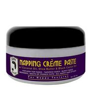 NAPPY STYLES Napping Creme Paste for High Top Fades, Burst  & Tapered Fades 8oz