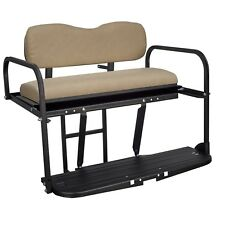 Gusto™ Club Car DS Golf Cart Flip Folding Rear Back Seat Kit - Buff