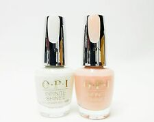 OPI Nail Polish INFINITE SHINE Bubble Bath + Alpine Snow ISL S86 + ISL L00 ~2ct~