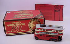 1931 AEC Trolleybus Diddler - Model Car - Matchbox Y-10