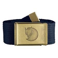 Fjällräven Canvas Brass Belt 77297 Dark Navy Gürtel Hosengürtel 120cm One Size