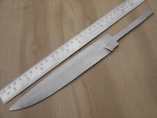 "11"" custom made big design hunting spring steel (5160) knife blank blade A"