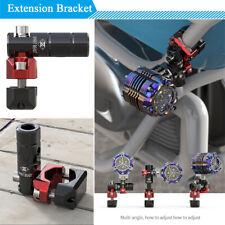 Motorcycle Spotlight Headlight Extension Bracket 360° Mount Holder Accessories