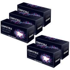 5 FST BRAND BK Toner Cartridge fits Brother TN2010 DCP-7055 HL-2130 HL-2132