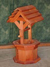 2' Kentucky Red Cedar Wishing Well Flower Planter
