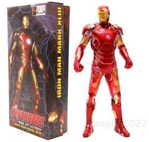 Crazy Toys Avengers Age of Ultron Iron Man Mark XLIII MK43 PVC Action Figure Toy