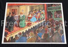 U897 Affiche scolaire vintage Colbert Comédie de Molière Rossignol école 76*56cm