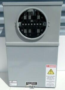 COOPER B-LINE RAINPROOF TYPE 3R METER SOCKET E-5333 70002 ELECTRICAL BOX