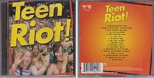 Razor & Tie TEEN RIOT Various Artists CD Martika New Edition Vanilla Ice Menudo
