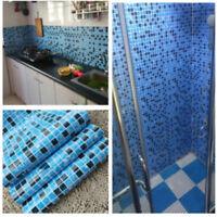 5M Mosaic Self Adhesive Wallpaper PVC Watertight Film Sticker Kitchen Wall Decor