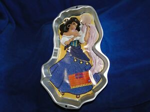 New Vintage Wilton Esmeralda Hunchback Notre Dame CakePan  2105-3800 face insert