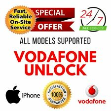 Vodafone UK UNLOCK CODE SERVICE for iPhone 11/11 Pro/11 Pro Max/Xs/Xr/Xs Max/X/7