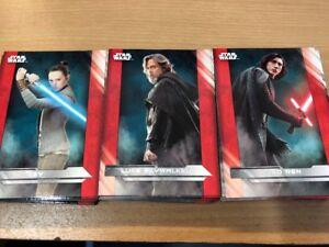 Star Wars The Last Jedi Complete Base Set 100 Cards Series 1