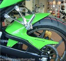KAWASAKI ZX636 2005 - 2006 Verde Brillo Rueda Trasera Hugger Guardabarros Fender 073015C