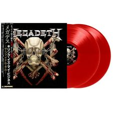 MEGADETH KILLING IS MY BUSINESS NEW 2018 JAPAN EDITION RED VINYL 2 LP Metallica