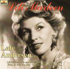 LALE ANDERSEN : LILI MARLEEN / CD (IMPERIAL/EMI CDP 520-7483502) - NEUWERTIG