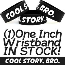 COOL STORY BRO Wrist Band Merchandise Item Silly Bracelet Color Filled Silicone