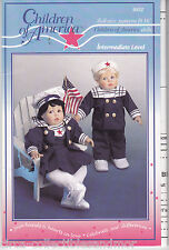 Children of America Doll Sew Pattern 9832 Sailor Suit Boy Girl Fit 16 in Dolls