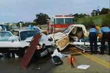 505063 High speed Near Fatal Multiple victim Traffic Accident A4 Photo Print