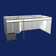 Messestand mit Abstellraum und Beratungstisch Messebausystem Planung Modul 2