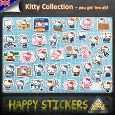 Hello Kitty Set Luggage Car Skateboard Laptop Phone Guitar Fridge Decal Sticker