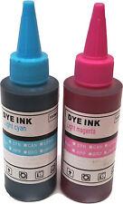 Printer Refill Ink Bottles for CISS Cartridges Light Cyan Light Magenta Inks
