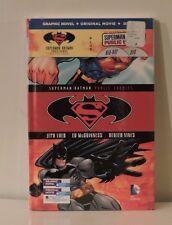 Superman Batman Public Enemies Graphic Novel DVD and Blu-ray NEW Digital DC