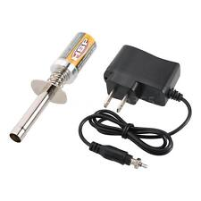 HSP Nitro Starter Kit Glow Plug Igniter w/Battery Charger for HSP RC Car TZ A6W8