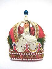 Sissi Krone Magnet Kaiserin Poly Souvenir Österreich Austria