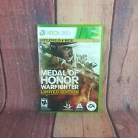 Medal of Honor Warfighter Limited Edition Microsoft Xbox 360 Free Shipping!!