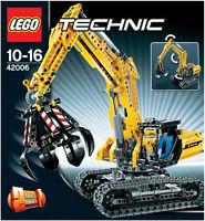 LEGO TECHNIC ESCAVATORE GIGANTE EXCAVATOR 2 IN 1 10-16 ANNI  ART 42006