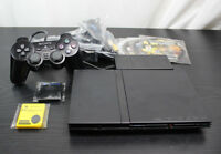 Sony Playstation 2 SLIM Console Bundle 1 Controller 4 Games 2 Memory cards FMCB