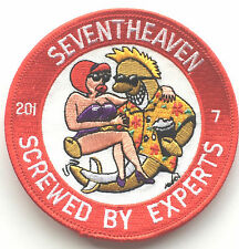 RAF No.201 Squadron 7 Crew Royal Air Force Seventhheaven Embroidered Patch