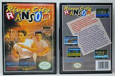 River City Ransom - Nintendo NES Custom Case - *NO GAME*