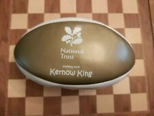 More details for promotional souvenir kernow king national trust gold & white beach rugby ball