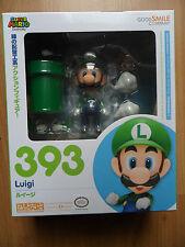 Super Mario Brothers Luigi Nendoroid Figura #393 buena sonrisa Company NINTENDO