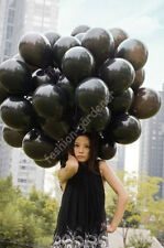 "20 PCS Birthday Wedding Party Decor Latex Balloons Black 10"" 10 inch"