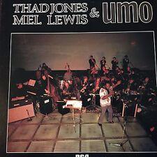 "THAD JONES  / MEL LEWIS & UMO  - - Rare Japanese 12"" RCA LP - -  JAZZ"