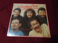 ROANOKE A Little More Fire SEALED LP vinyl record LOOK