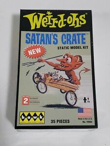 Weird-Ohs 15994 Satan's Crate HAWK Plastic Model Kit Static Model Unused Free SH