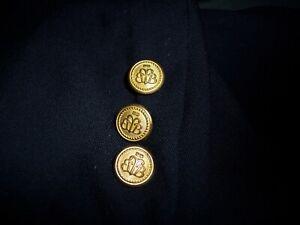 Vintage Brooks Brothers Set of 8 Golden Fleece Button Replacement Set Blazer