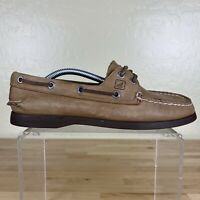 Sperry Original Boat Shoes Womens Size 7 M Sahara Tan Leather