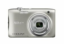 Nikon COOLPIX A100 Silver Compact Digital Camera Japan Domestic Version New