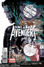 UNCANNY AVENGERS #23 EMMA RIOS 1:10 Marvel Agents of SHIELD Variant Cover NM
