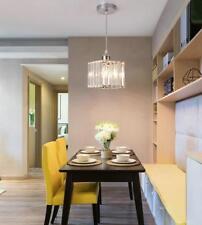 LED Ceiling Lamp K9 Crystal Pendant Light Hallway Drop Lamp Fixtures Chandelier