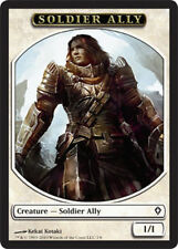 8X 1/1 White Soldier Ally Token LP Worldwake MTG Magic Cards