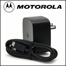 100% Original 1.6A Motorola Turbo Charger, Fast QuickCharge 2.0 TURBOPOWER Charg
