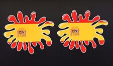 Bandera España Pintura Splat Coche Casco Pegatinas Iphone Ipad Pared Arte seat leon