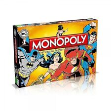 MONOPOLY DC Comics Retro Board Game Classic 1